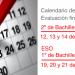 calendario exámenes extraordinaria